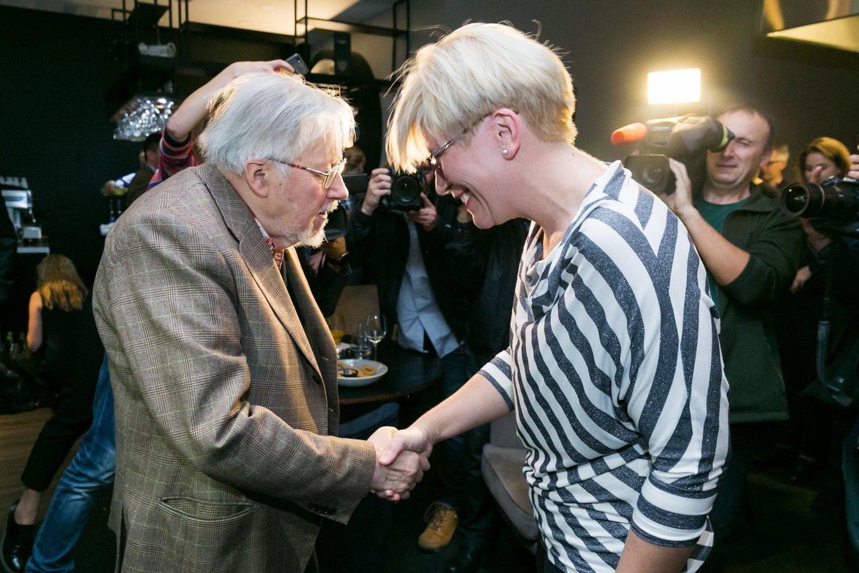 "V.Landsbergis  vėl parinko Lietuvai prezidentę, ""partijos kareivį"" I.Šimonytę"