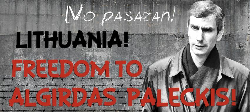 """Prie prokuratūros rengiama akcija """"Laisvę A.Paleckiui"""""""