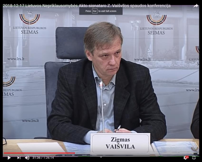 """Zigmas Vaišvila jau išmetė arba """"suspendavo"""" bent pusę savo vadovaujamos LVT narių """"dėl neteisingos nuomonės"""""""