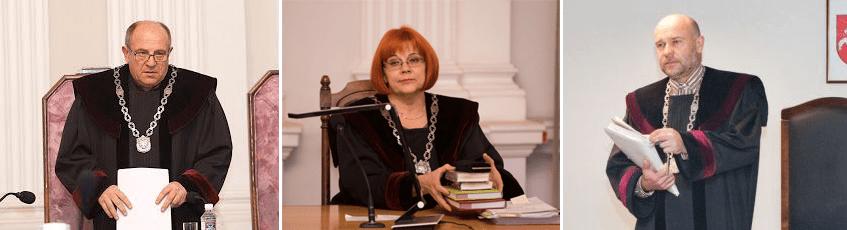 Skundas dėl teisėjų Audriaus Cinino,  Virginijos Pakalnytės-Tamošiūnaitės, Gintaro Dzedulionio patraukimo baudžiamojon atsakomybėn dėl piktnaudžiavimo