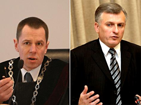 Aukščiausio teismo kyšininkai atima žadą