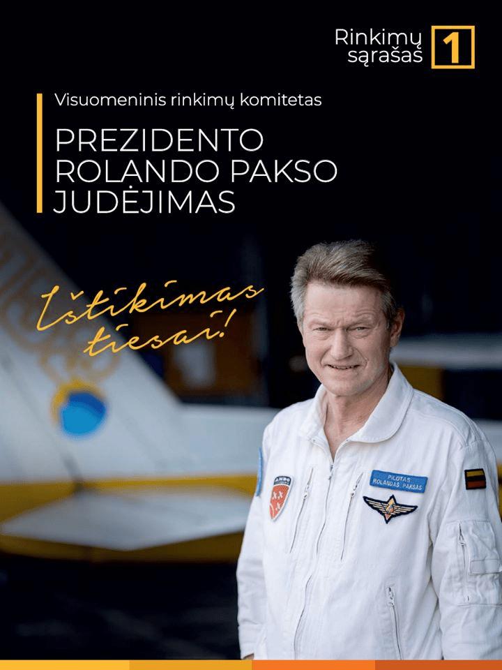 """Prezidentas Rolandas PAKSAS: """"Su Rusija reikia kalbėtis, ieškoti kontakto, nes iš jėgos pozicijų mes nieko nepasieksime!.."""""""