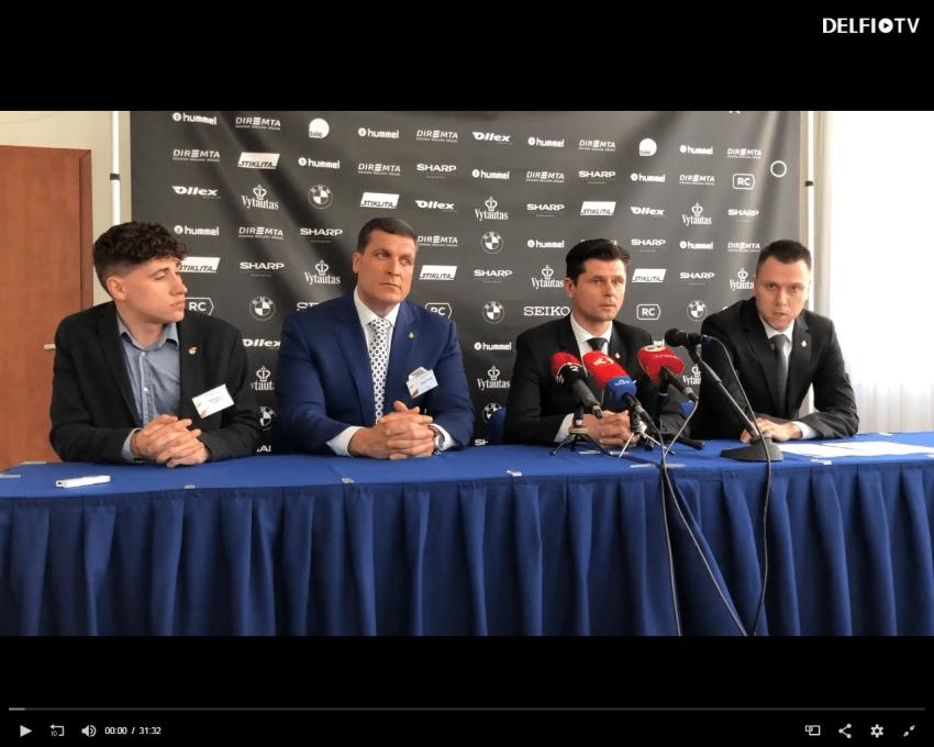 """Futbolo federacijai ėmė vadovauti smarkūs vyrai – vienas jų – Arūnas Pukelis – sutramdė siautėjantį """"Henytės"""" sūnų"""