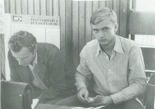 Zigmas Vaišvila. 1981 metai – pirmoji politinė pamoka. 2019-06-03