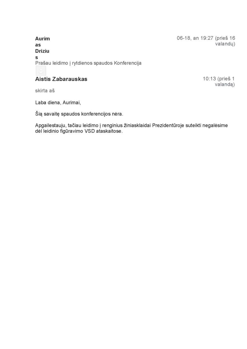 """Teismas gelbėja prezidento G.Nausėdos garbę – prezidentūros atsisakymas suteikti """"Laisvam laikraščiui"""" akreditaciją """"nėra dokumentas"""""""