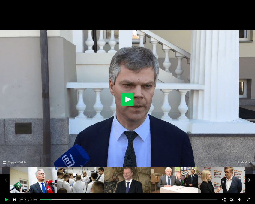 """Daugybę sunkių nusikaltimų padaręs VSD šefas D. Jauniškis tikisi uoliai tarnauti G.Nausėdai : """"po inauguracijos prasidės rimti darbai"""""""