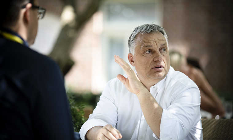 """Viktor Orbán: """"Jie nori paskirti Sorošo žmogų ES komisijos pirmininku"""""""