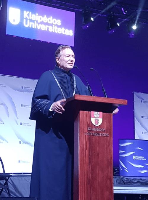 """KU rektorius Artūras Razbadauskas: """"Klaipėdos universitetas turi didžiulį potencialą ir pasitarnaus Lietuvai, jeigu nebus gniuždomas!.."""""""