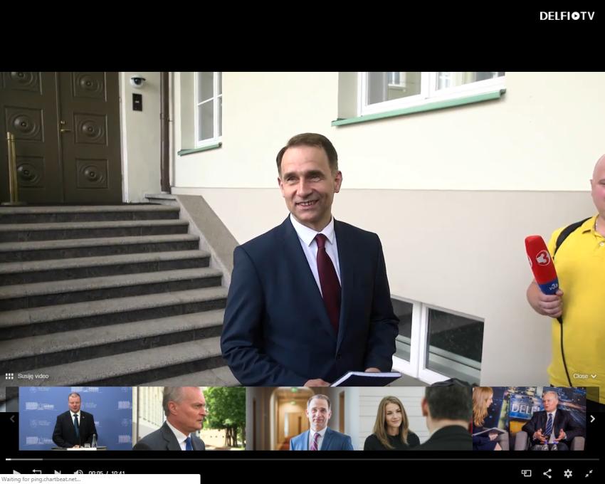 """G.Nausėda kuria prezidentinę partiją, jai vadovaus milijardinės """"Independence"""" aferos autorius Rokas Masiulis"""