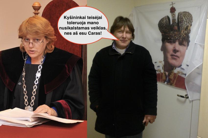 Ar čia Gerbiama teisėja Rita Kisielienė, ar čia visuomenės parazitė?