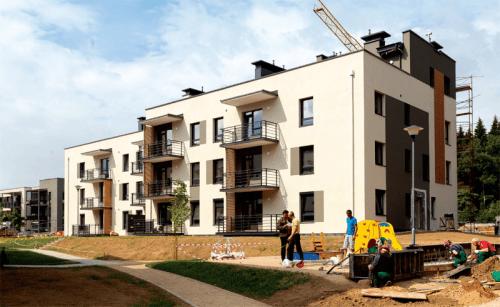 Vėl pučiamas nekilnojamo turto burbulas Vilniuje