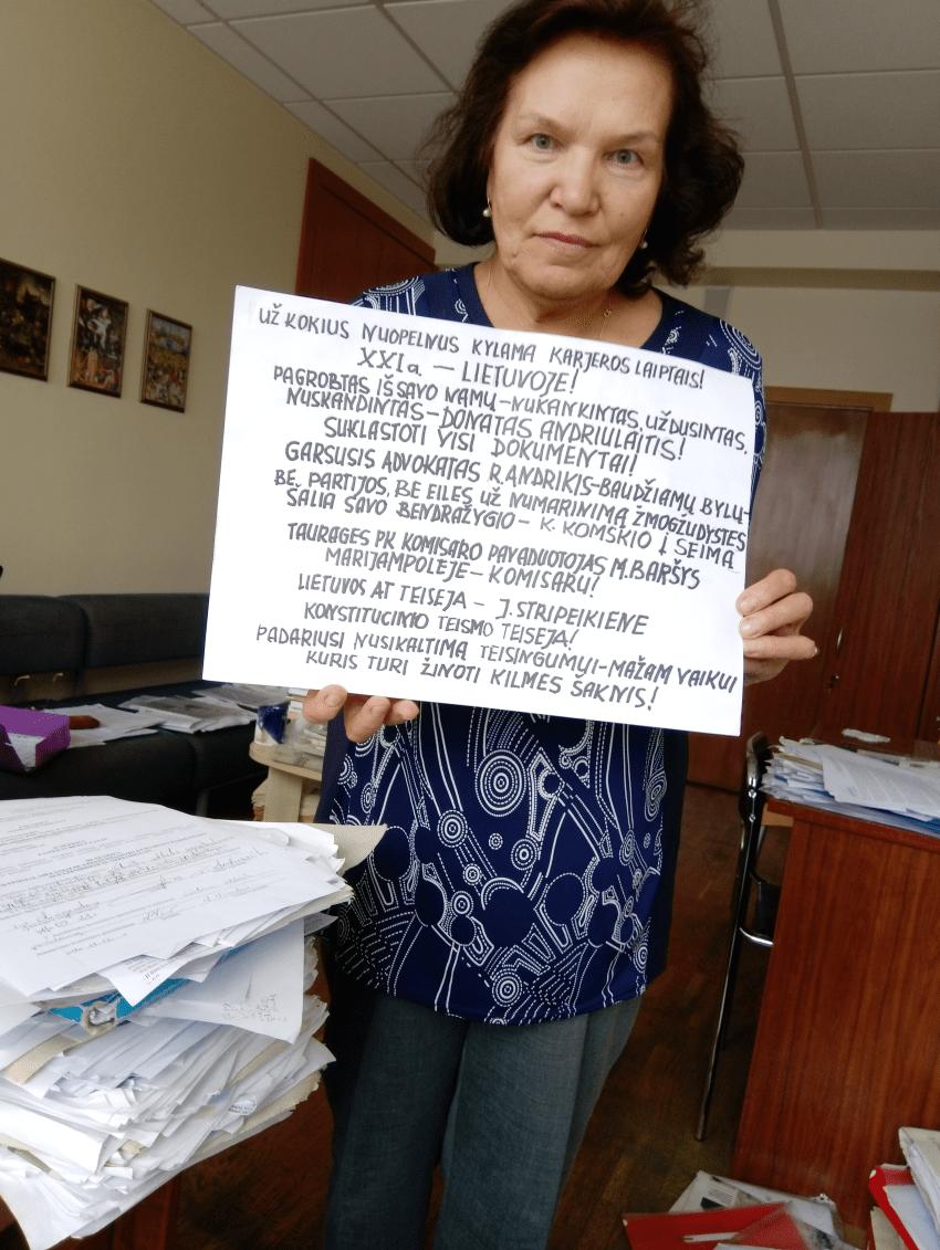 Nuslėpusi sūnaus nužudymą, Šilutės prokuratūra iškėlė bylą teisingumo siekiančiai motinai