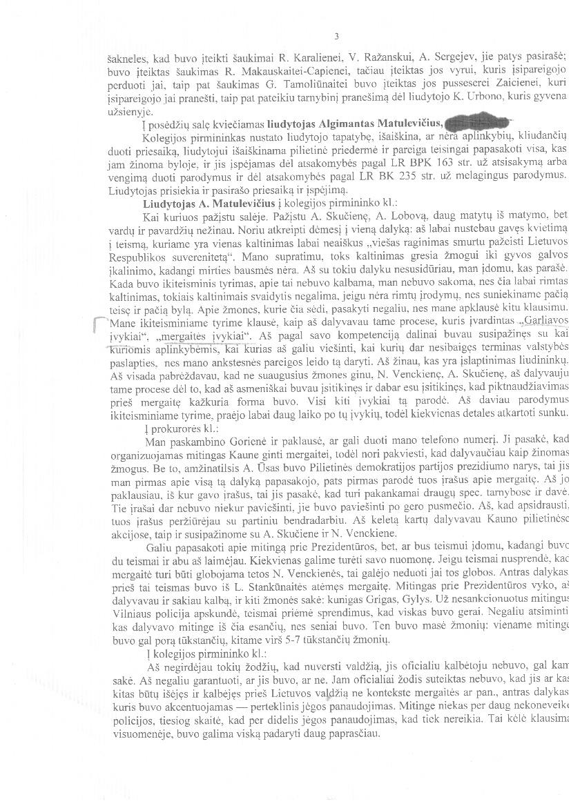 """Seimo NSGK ekspirmininkas A.Matulevičius teisme: """"D.Kedys ir A.Ūsas buvo nužudyti, tačiau tai įslaptinta informacija"""""""