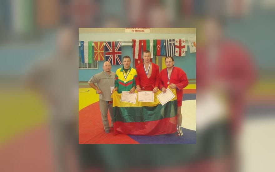 Sambo : Neringa Venckienė vs Pasaulio vicečempionas