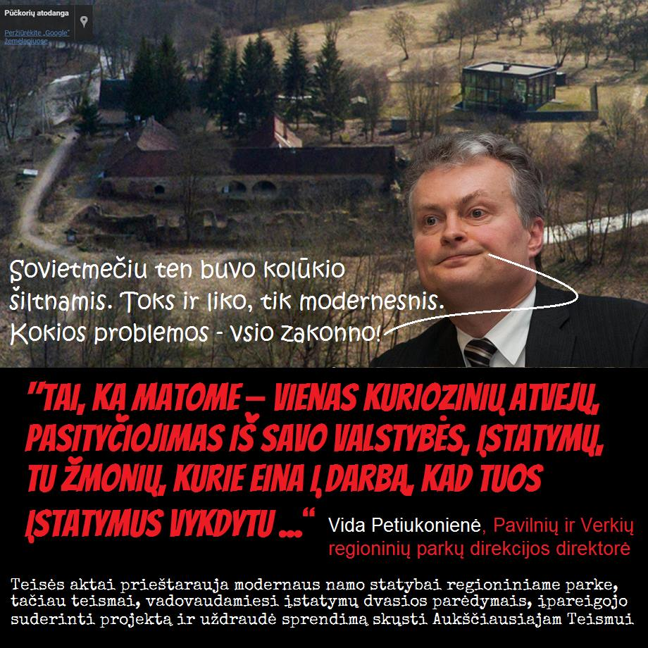 """Kuršių marias daug metų nuodijęs """"Grigeo"""" vadovas G.Pangonis pirko ir Gitaną Nausėdą, ir Dalią Grybauskaitę, ir Klaipėdos merą """"Kongą"""""""
