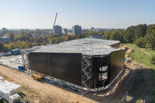 Lazdynų baseino statybos pristabdytos dėl rangovo kaltės – bus skelbiamas naujas konkursas