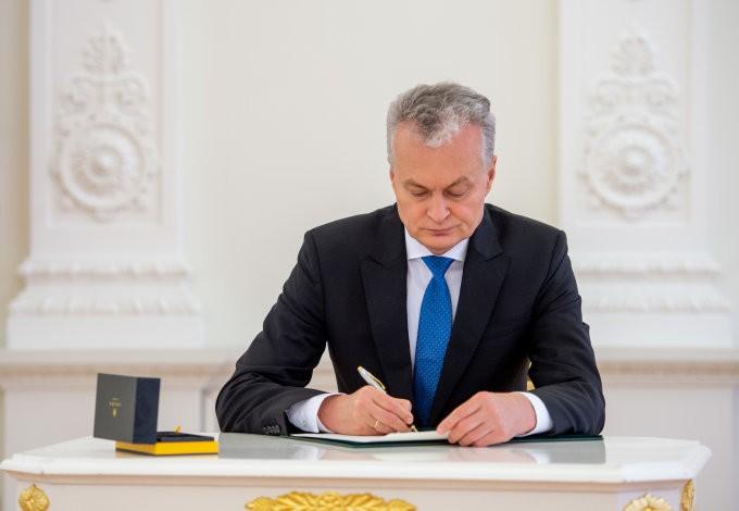 G.Nausėda atskleidė kortas – jo tikslas – uždrausti rinkimus Lietuvoje