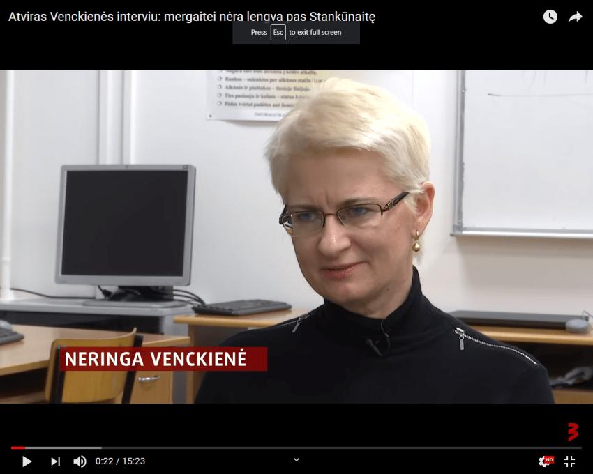 """Tarp prokuratūros kaltinimų N.Venckienei – """"parašė knygą """"Drąsiaus viltis – išgelbėti mergaitę"""". JAV nesuprato tokio kaltinimo"""