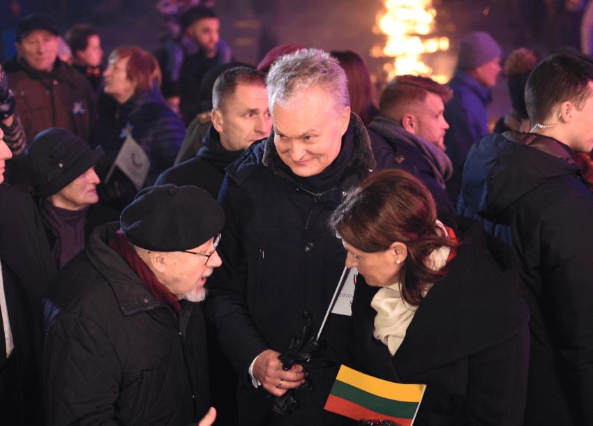 """Daiva Guobienė : """"Vytautas Landsbergis valdo Lietuvą per Nausėdą"""""""