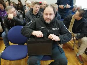 """Policininkas M.Gušauskas liudijo teisme : """"Sužaloti N.Venckienę liepė policijos vadovai"""" (pildoma)"""
