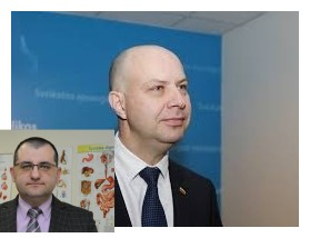 """Į A.Verygos vietą besitaikantis šeimos gydytojas prof. Vytautas Kasiulevičius, kuris nėra nei virusologas, nei epidemiologas, tačiau organizavo streiką prieš """"valstiečius"""" 2018 m."""