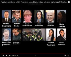Kaip buvo pagrobta mergaitė iš Venckienės namų. Slaptas įrašas - kaip buvo sugriauta pedofilijos byla (pildoma)