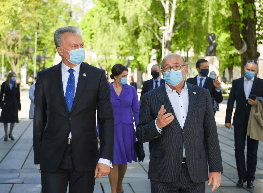 """Prezidentas Gitanas Nausėda : """"prievartos prieš Deimantę Kedytę vertinimas nėra mano kompetencija"""""""