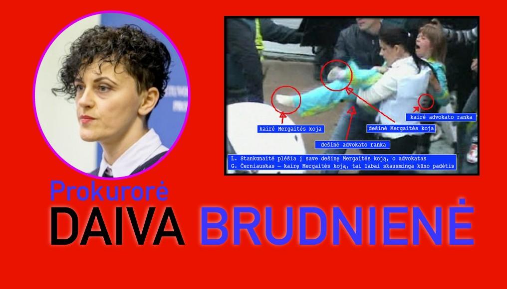 Prokurorė Daiva Brudnienė : skundas dėl prievartos prieš vaiką neatitinka taisyklių, todel nenagrinėjamas