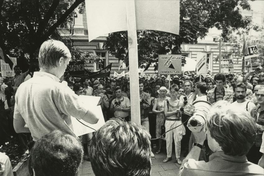 Zigmas Vaišvila. Birželio 3-iosios Sąjūdis – Tautos susitelkimas