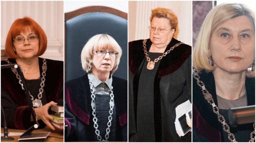 Dėl organizuotos teisėjų (N.Vigelienė, Daiva Pranytė – Zalieskienė, L.Gurevičienė, V.Pakalnytė- Tamošiūnaitė) gaujos nusikaltimų