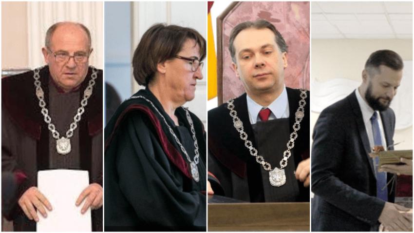 Teisėjų gauja savų neišduoda