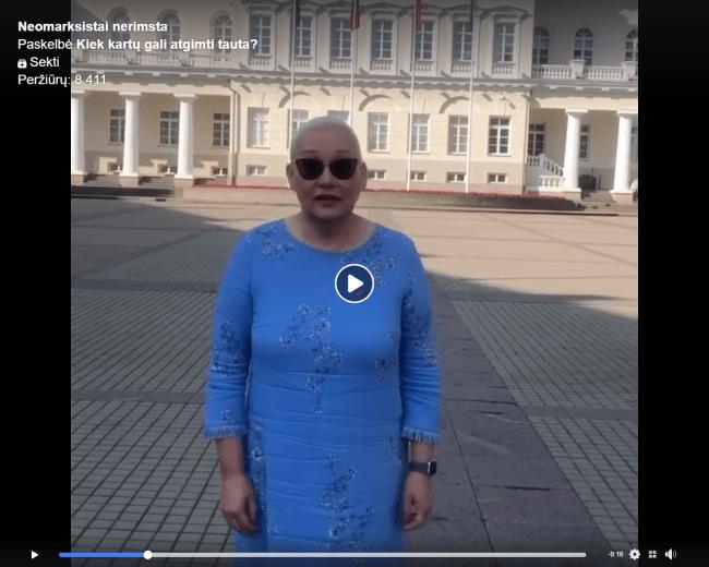 """Neringa Venckienė : """"Lietuvoje masinis skurdas, o  šitiems labai svarbu spalvotas ženkliukas.."""