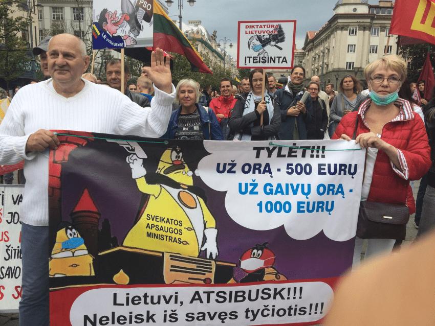 """Lietuva antrą kartą bando išsivaduoti iš """"sistemos"""", t.y. mafijos"""