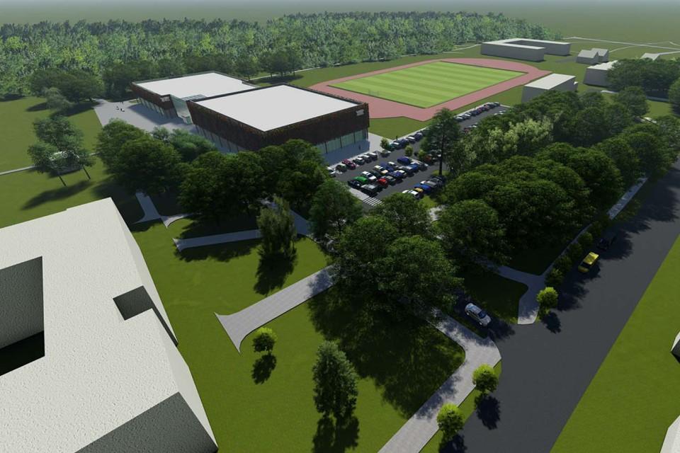 Kviečiame keisti sprendimą dėl daugiafunkcio sporto centro prie parko
