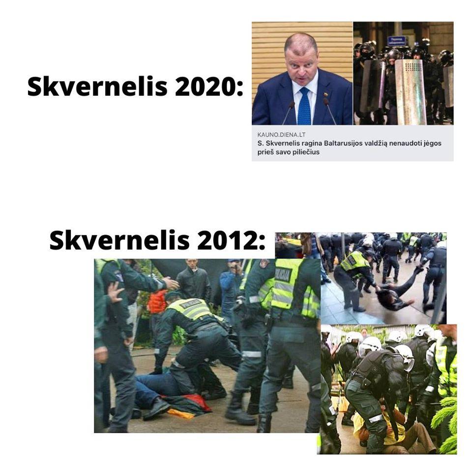 Karolis Venckus : Gal Skverneliui apie policijos smurtą geriau patylėti..