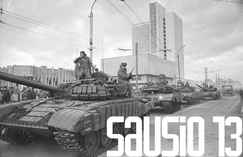 Prokuratūrai perduoti įrodymai, kad per sausio 13 d. įvykius buvo duotas įsakymas stumti žmones po sovietų tankais ?