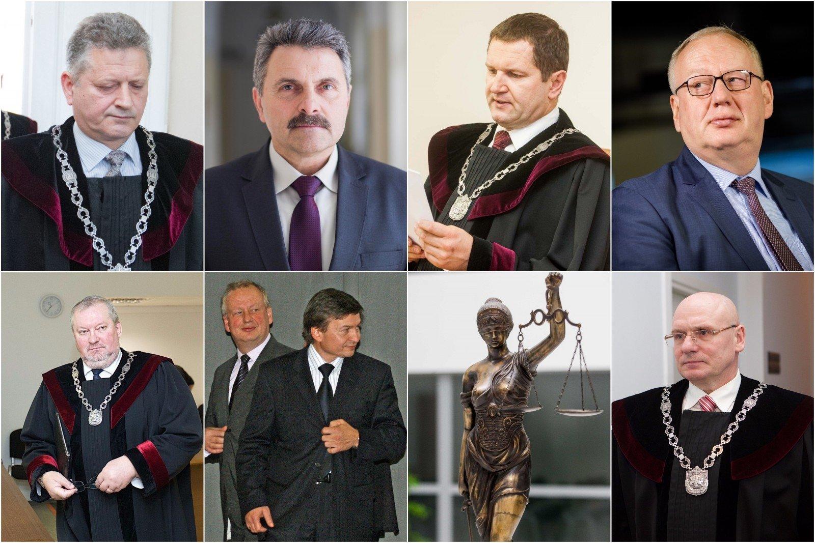 Iš 750 Lietuvos teisėjų kyšių neima tik 50
