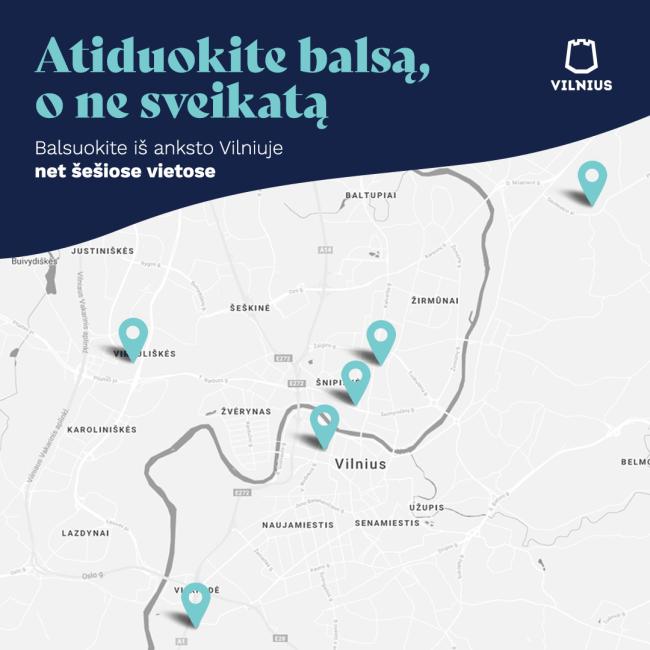 Vilniuje atsiras galimybė balsuoti saviizoliacijoje esantiems asmenims