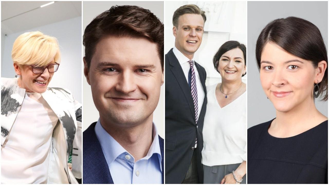 I.Šimonytė, G.Skaistė, M.Majauskas ir V.Landsbergis galės baigti visus parduotus politinius projektus