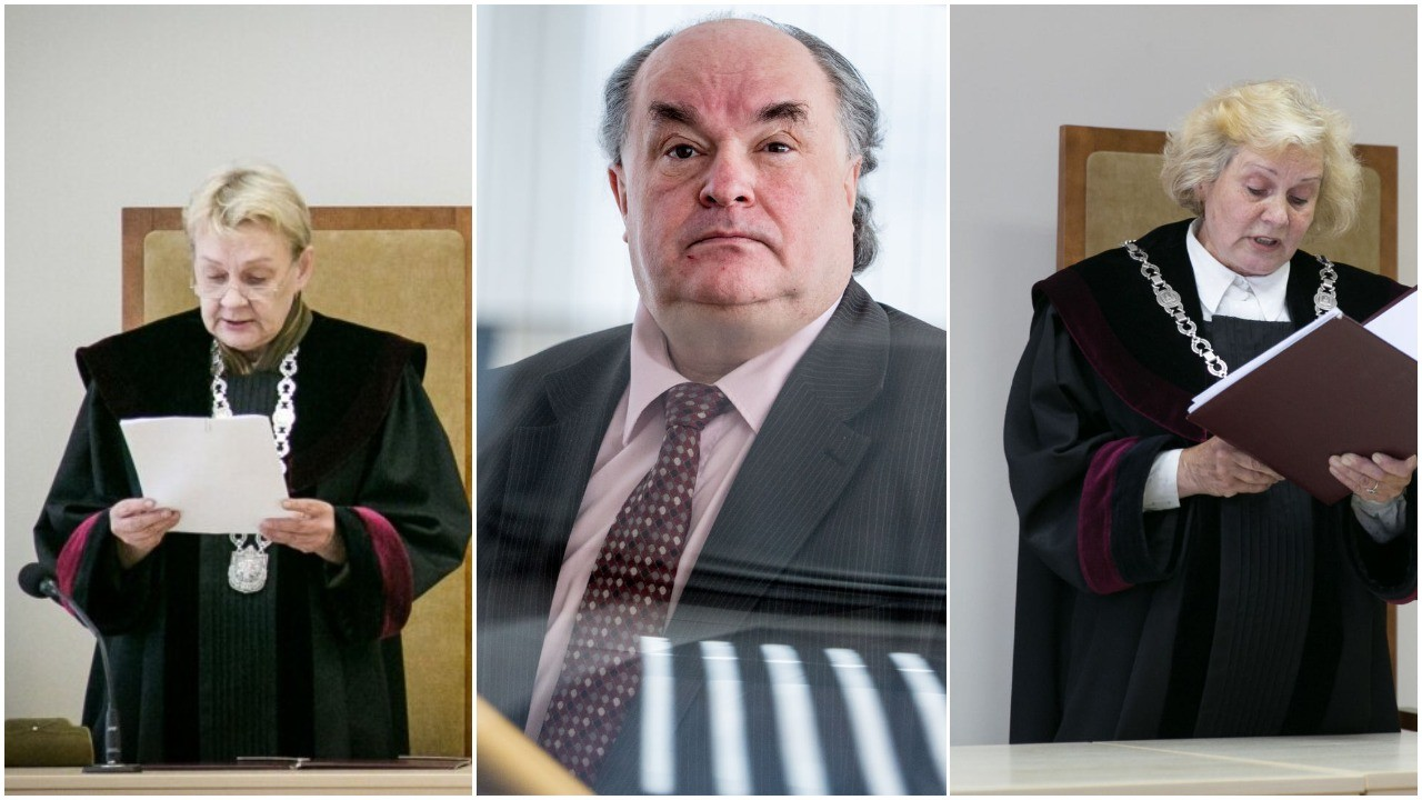 Dėl apkaltos sunkius nusikaltimus padarius įtariamiems LAT teisėjams D.Bajerčiūtei, A.Abramavičiui, A.Rakauskienei