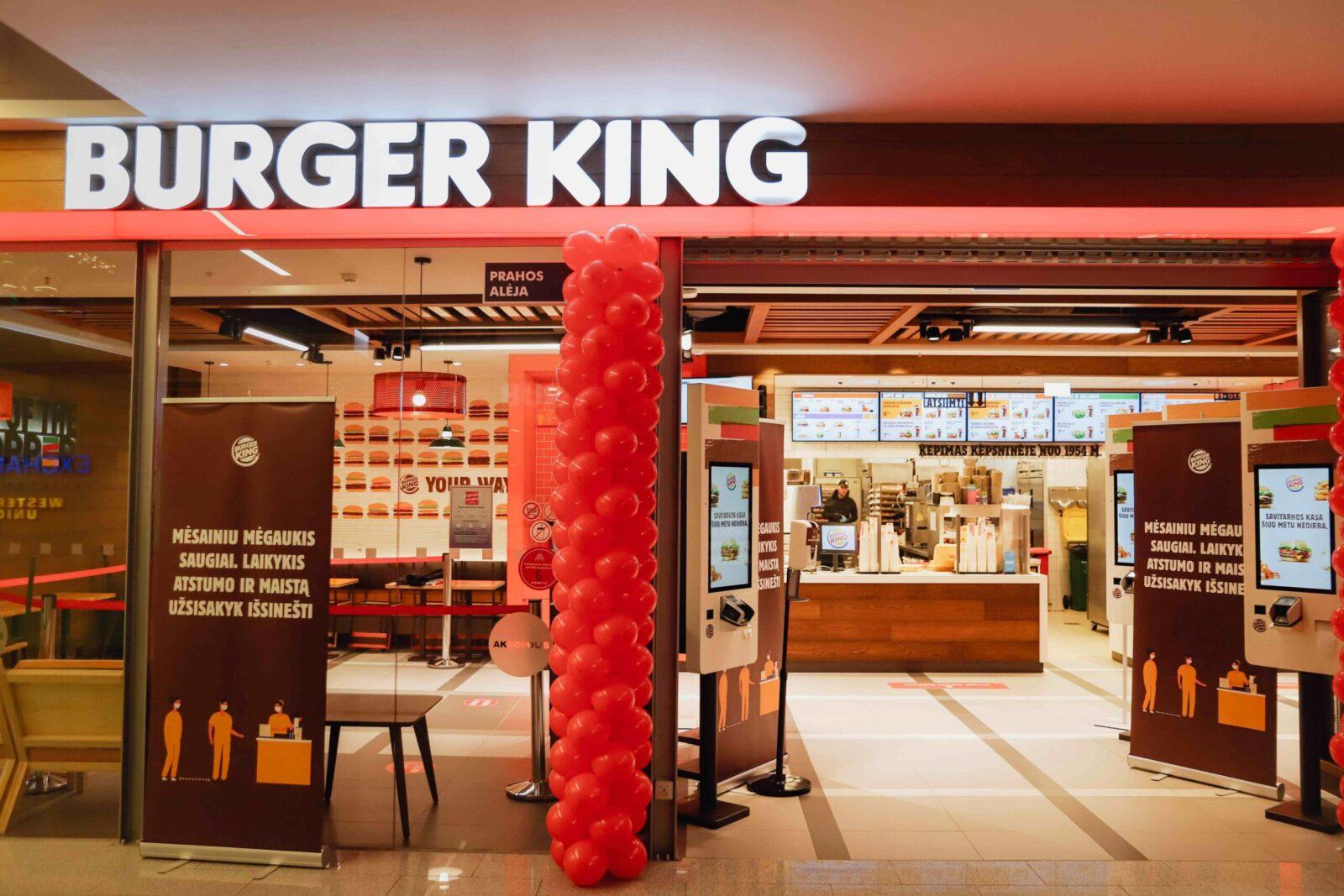 """Pirmasis """"Burger King"""" restoranas Lietuvoje atidaromas Vilniaus """"Akropolyje"""""""