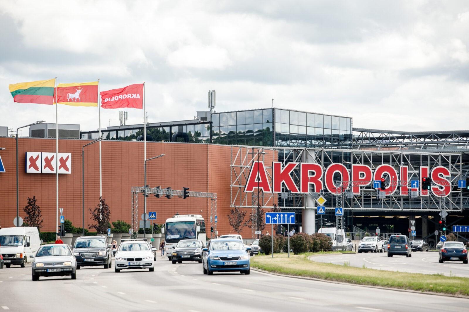"""Kauno """"Akropolyje"""" įsigalioja nauja tvarka: steigiami prekių atsiėmimo punktai, veiks tik dalis parduotuvių ir paslaugų"""