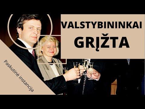 """""""Atsirado jėgos, stipresnės už Landsbergių šeimyną""""/dingę Baltarusijos opozicijos pinigai"""
