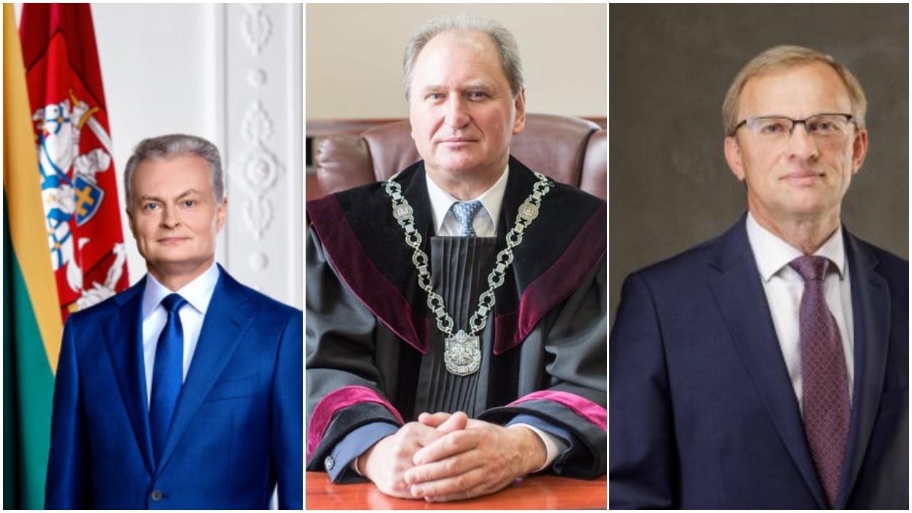 G.Nausėda stumia mafijos teisėją A.Driuką į aukščiausiąjį teismą