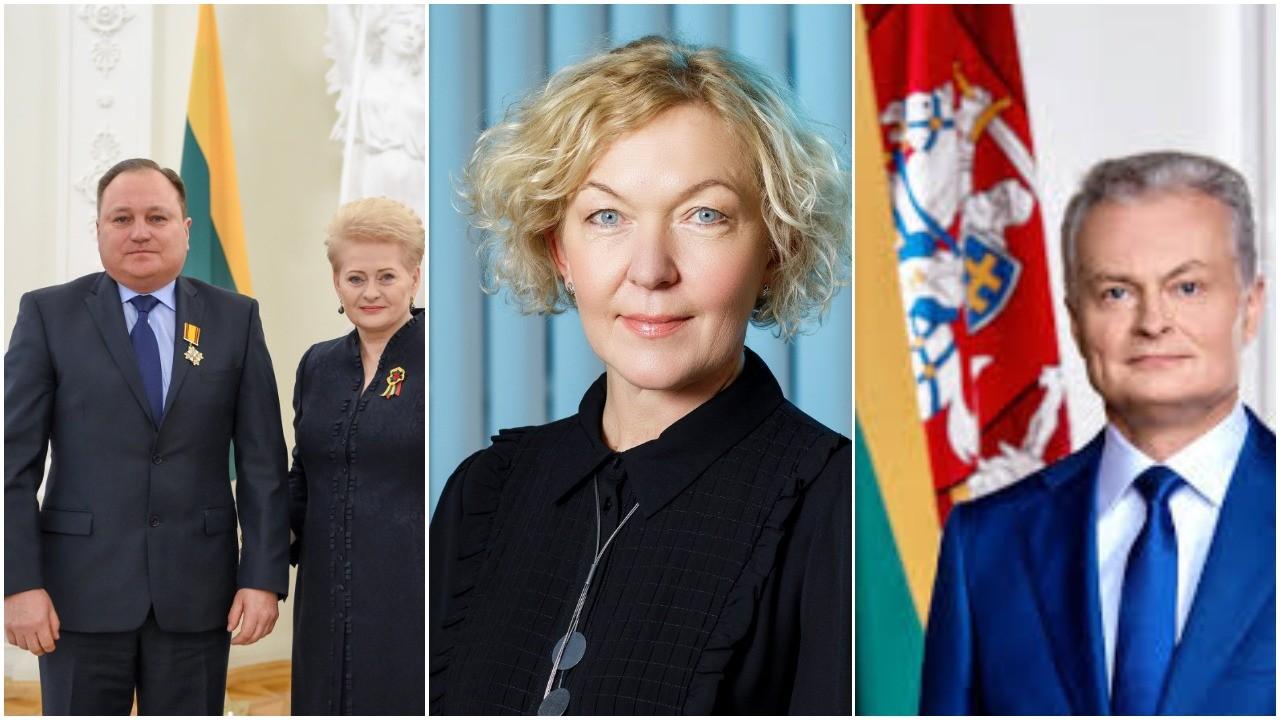 """G.Nausėdai tinka, kaip G.Kryževičius sugyventinę S.Rudėnaitę """"padaro"""" aukščiausio teismo pirmininke"""