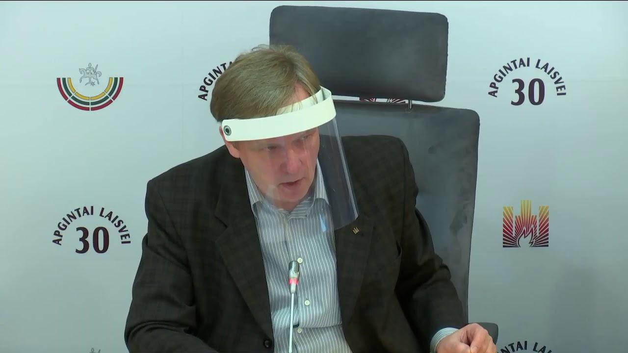 """2021-02-24 Lietuvos Nepriklausomybės Akto signataro Zigmo Vaišvilos sp. konf. """"Reikalavimai Seimu..."""
