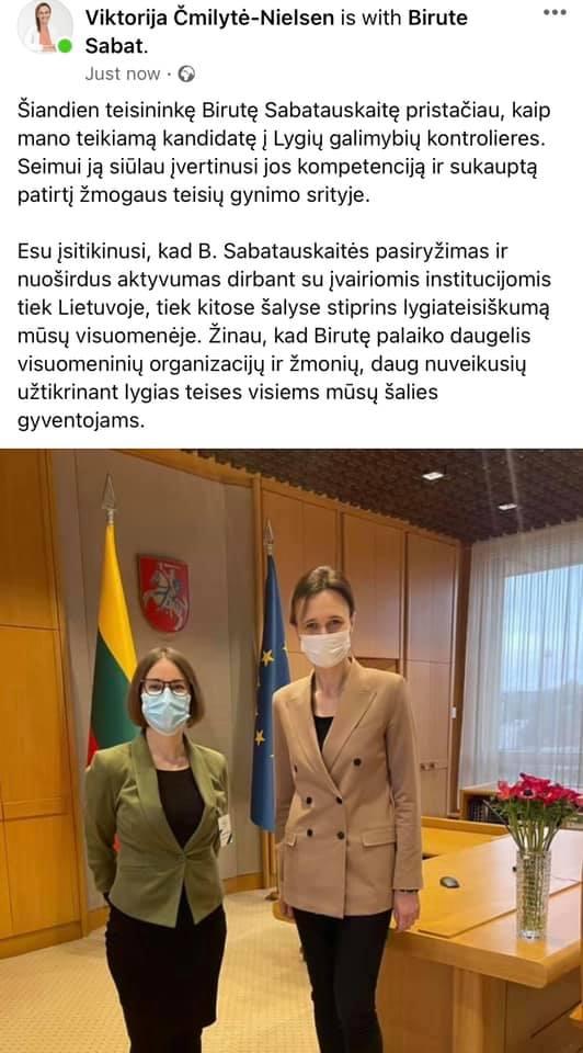 Barteris – socdemai rems V.Mizarą mainais į Juliaus Sabatausko dukros karjerą