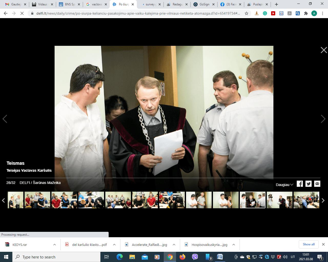 Drąsi teisėjo Vaclavo Karšulio nutartis pagaliau legalizavo pedofiliją Lietuvoje