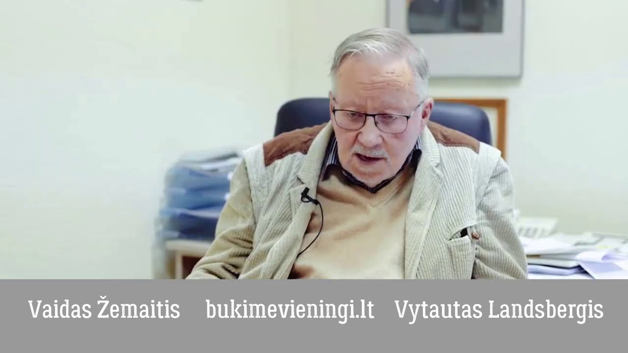 Itin atviras pokalbis su Vytautu Landsbergiu