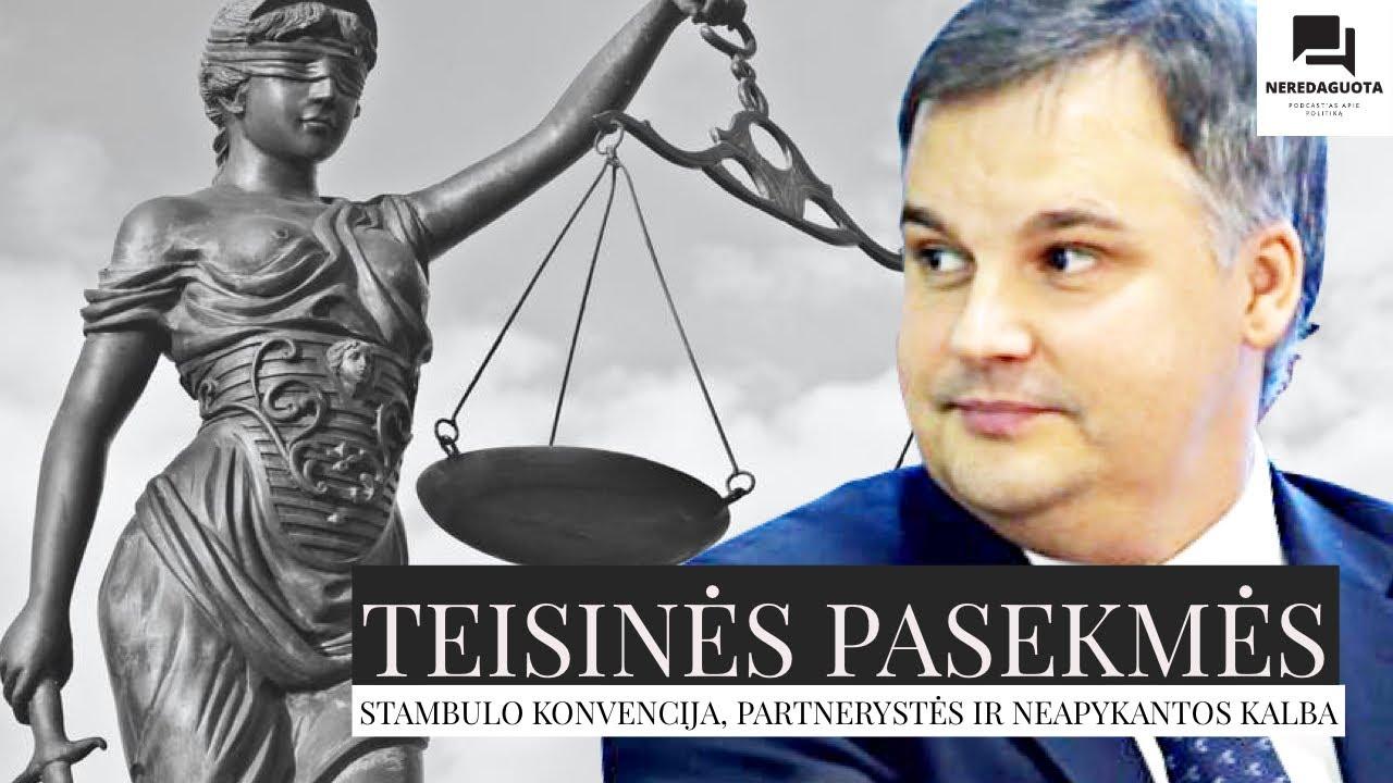 Teisinės pasekmės. Stambulo konvencija, partnerystės ir neapykantos kalba. Marijus Velička